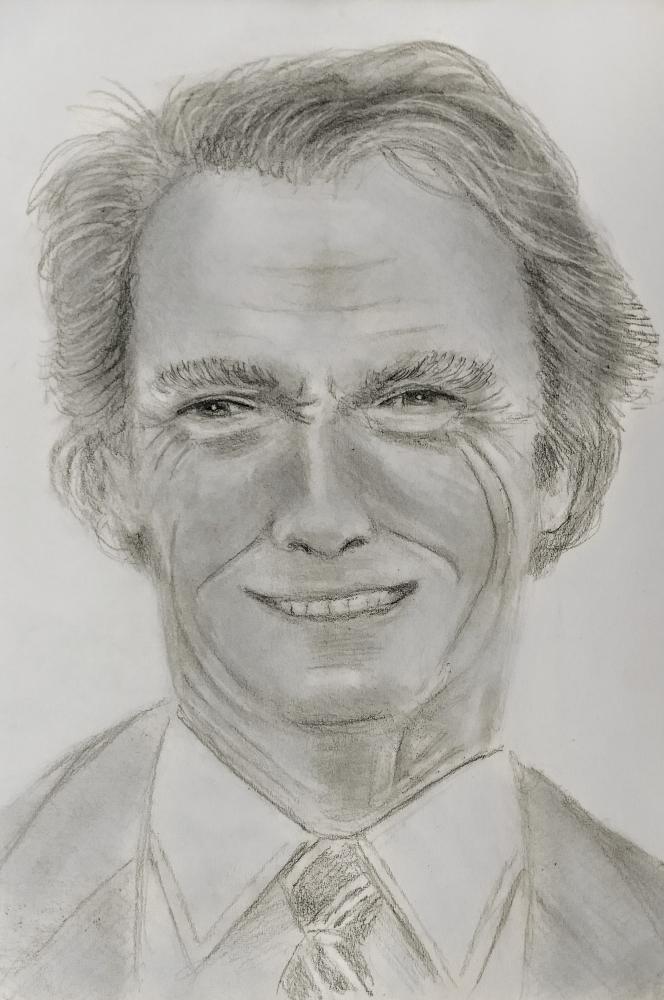 Clint Eastwood par paulb